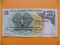 bankovka 2 kina Papua - Nová Guinea