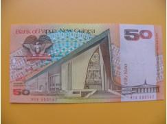 bankovka 50 kina Papua - Nová Guinea