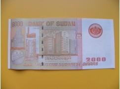 bankovka 2000 sudánských dinárů Sudán 2002 - série SA