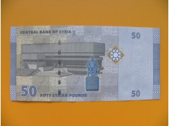 bankovka 50 Syrských liber 2009