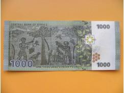 bankovka 1000 Syrských liber 2013
