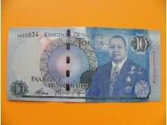 bankovka 10 paʻanga - království Tonga  - série A