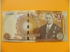 bankovka 20 paʻanga - království Tonga  - série A