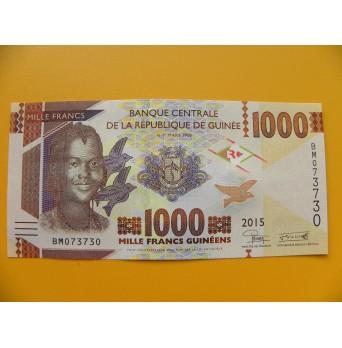 bankovka 1000 franků Guiena/2015 - série BM