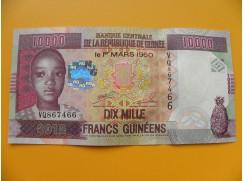 bankovka 10000 franků Guiena/2012  - série VQ