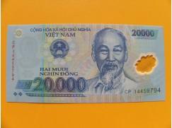 bankovka 20000 dongů Vietnam - polymar - série CP