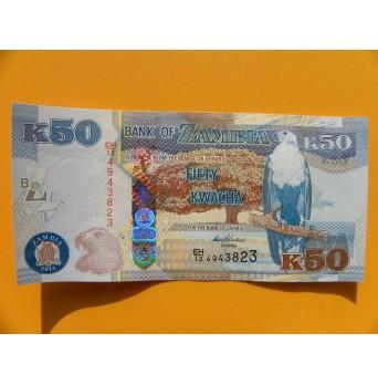 bankovka 50 kwachů Zambie/2014 - série EH
