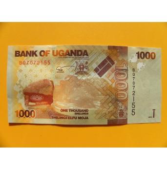 bankovka 1000 šilinků Uganda/2013 - série BQ