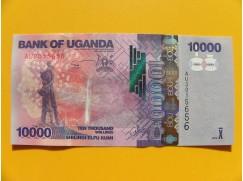 bankovka 10000 šilinků Uganda/2013 - série AU
