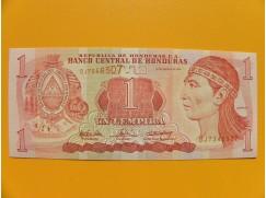 bankovka 1 lempira série DR
