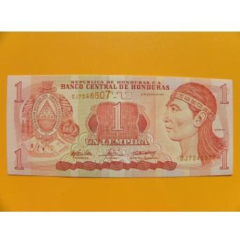 bankovka 1 lempira Honduras 2014  série DJ