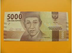 bankovka 5000 rupií Indonésie 2016 - série EAO