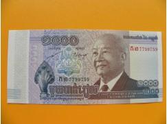 bankovka 1000 kambodžských rielů/2013
