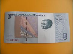 bankovka 5 angolských kwanzas/2012
