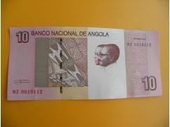bankovka 10 angolských kwanzas/2012