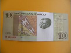 bankovka 100 angolských kwanzas/2012vvv