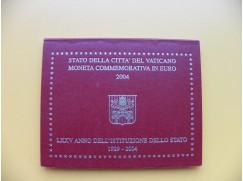 2 euro mince Vatikán 2004