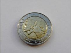 2 euro mince Belgie - Belgicko- lucemburská ekonomická unie - 2005 UNC