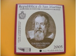 2 euro mince San Marino 2005