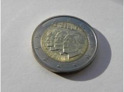 Euro mince - LUCEMBURSKO - výročí 50 let jmenování Jeana nástupcem trůnu  UNC 2011