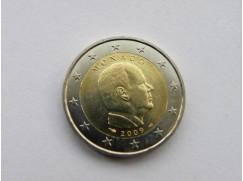 2 euro mince Monako 2009 UNC