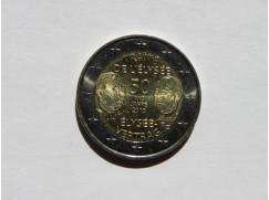 2 euro mince sběratelské Francie 2013 Smlouva  UNC