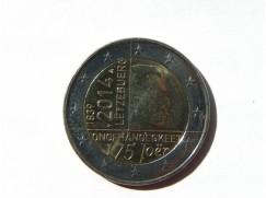 2 euro mince sběratelské LUCEMBURSKO 2014 UNC