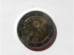 2 euro mince sběratelské PORTUGALSKO  2014 UNC