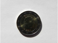 2 euro mince Monako 2014 UNC