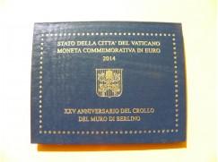 2 euro mince sběratelské Vatikán 2014 UNC - Berlínská zeď