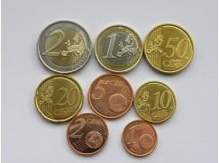 Sada euromincí LUCEMBURSKO 2015 - UNC
