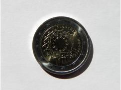 2 euro mince 30 let Evropské vlajky Lotyšsko 2015-UNC