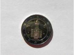 2 euro mince sběratelské Německo 2015 - Paulskirche UNC 1ks