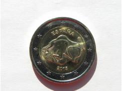 2 euro mince sběratelské ŠPANĚLSKO 2015 -Altamira UNC