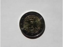 2 euro mince sběratelské Francie 2016 - MS ve fotbale - UNC