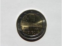 2 euro mince sběratelské Lucembursko 2016 - 50 let velkovévodkyně Charlotte Bridge- UNC