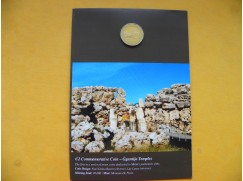 2 euro mince sběratelské Malta 2016 - Ggantija - UNC