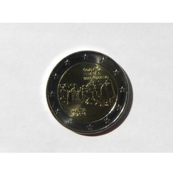 2 euro mince sběratelské Malta 2016 - Ggantija - UNC -