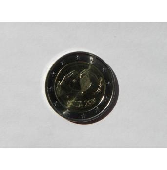 2 euro mince sběratelské Malta 2016 - Láska - UNC