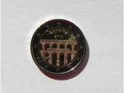 2 euro mince sběratelské Španělsko 2016 - Akvadukt - UNC