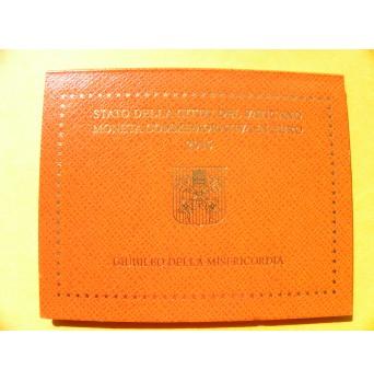 2 euro mince sběratelské Vatikán 2016 - Rok milosti - UNC