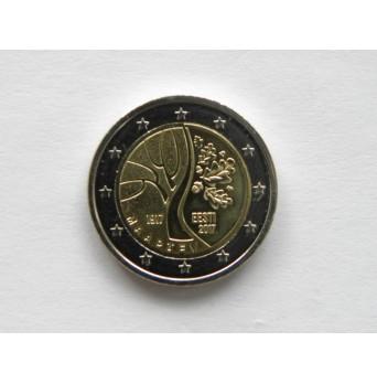 2 euro mince sběratelské Estonsko  2017 - cesta k nezávislosti - UNC