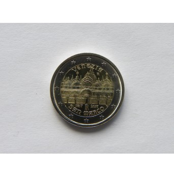 2 euro mince sběratelské Itálie 2017 - Benátky - UNC