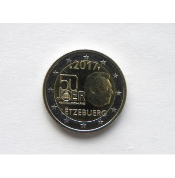 2 euro mince sběratelské Lucembursko 2017 - Armáda - UNC