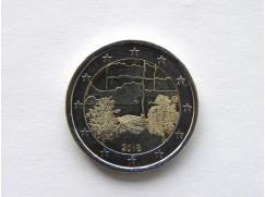 2 euro mince sběratelské Finsko 2018 - Sauna - UNC