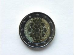 2 euro mince sběratelské Francie 2018 - Chrpa - UNC