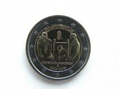 2 euro mince sběratelské Itálie 2018 - Ústava - UNC