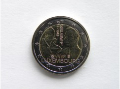 2 euro mince sběratelské Lucembursko 2018 - Guillaume I - UNC