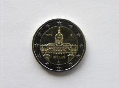 2 euro mince sběratelské Německo 201 - 5 ks - Berlín - UNC