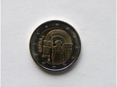 2 euro mince sběratelské Španělsko 2018 - Compostela - UNC